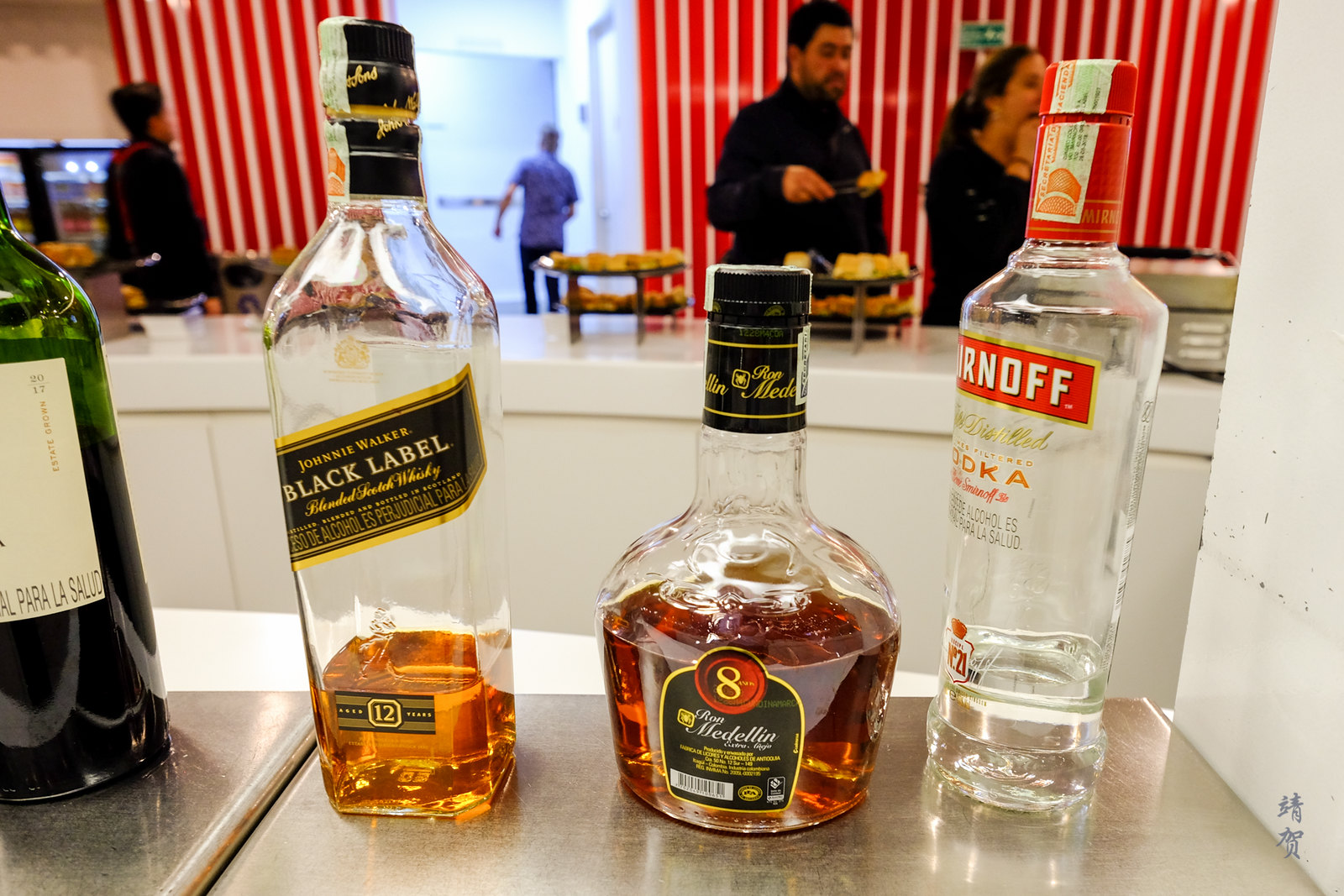 Liquor in the bar