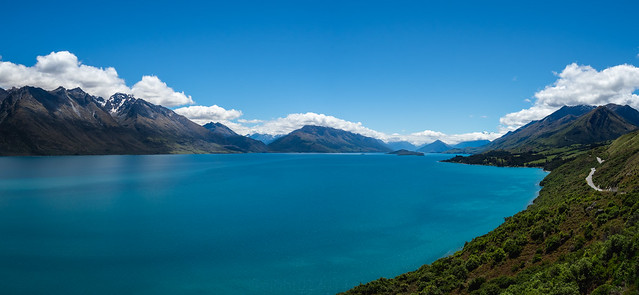On the way to Glenorchy