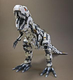 LEGO Mecha Tyrannosaur Mk2-06 | by ToyForce 120