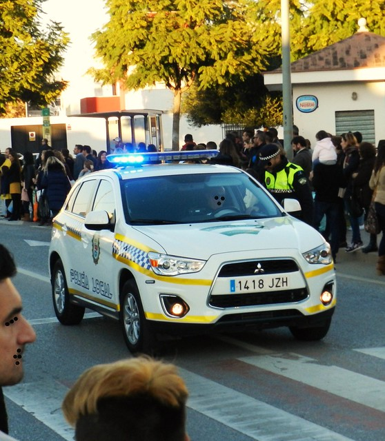 POLICÍA LOCAL AYUNTAMIENTO DE LA RINCONADA (SEVILLA) POLICE SPAIN