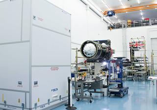 EUTELSAT QUANTUM in the clean room | by Eutelsat_SA