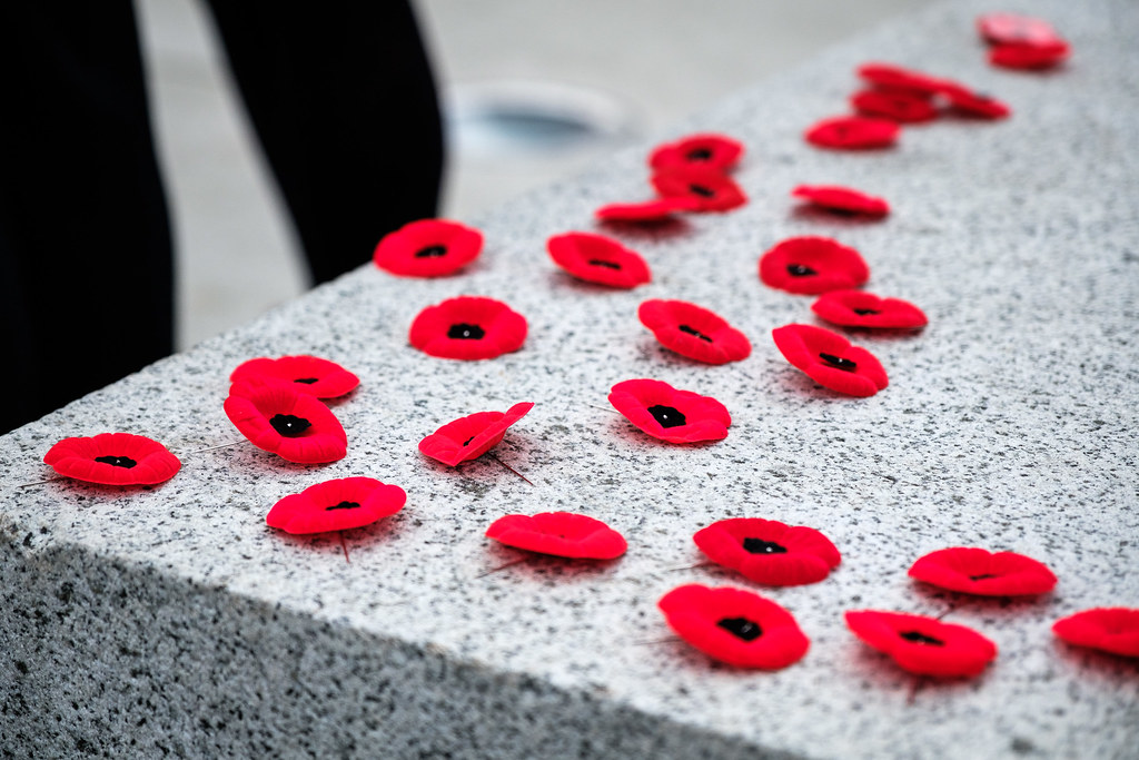 2018 Remembrance Day Ceremony and Parade | Minister Carole J