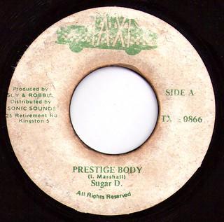 "7"" Sugar Dee: Prestige Body"