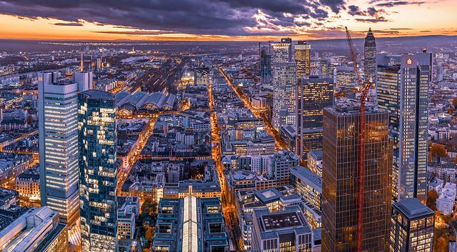 Frankfurt Observation Deck View II