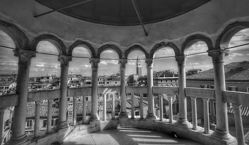 arcos archi view panorama belvedere architecture architettura palazzocontarinidelbovolo venezia