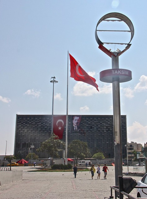 Atatürk Cultural Centre, Taksim Square, Istanbul, Turkey