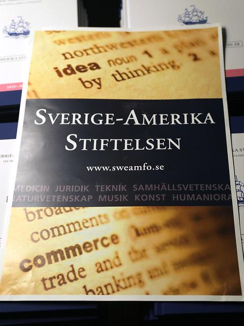 Svenska-Amerika Stiftelsen - 100 years