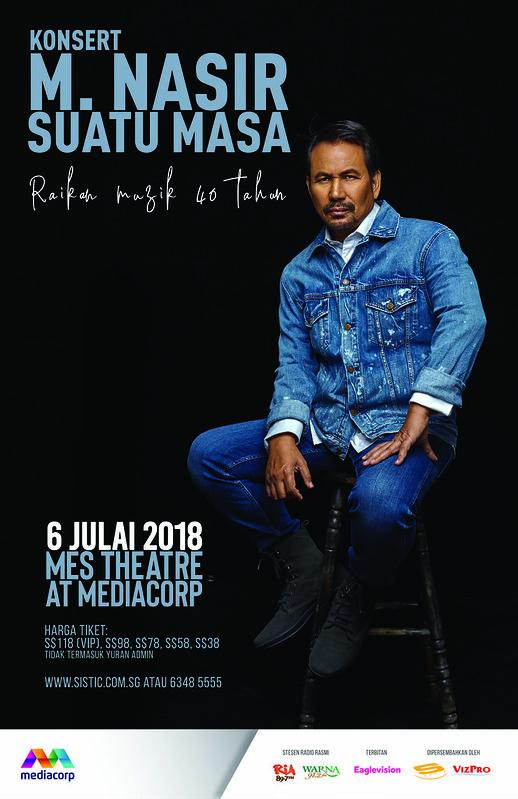 Konsert Istimewa M.Nasir di Singapura