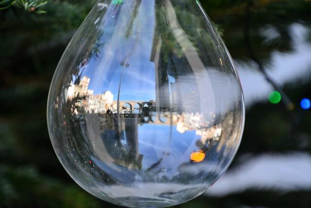 Reflets dans le vallon des Auffes