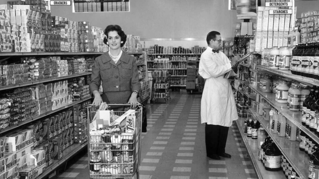1965 Grocery Shopping