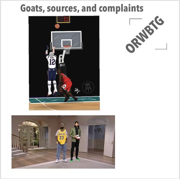 Goats, Sources, and Complaints #Open068