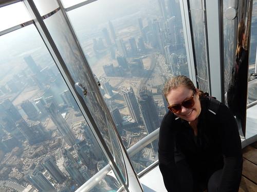 Dubai - vanaf Burj Khalif - 148th floor - 2