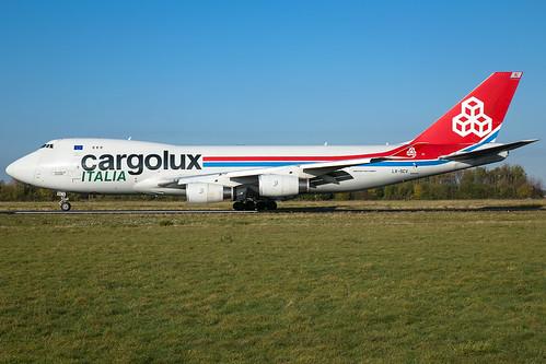 Cargolux Italia B747-4R7(F) LX-SCV | by wapo84