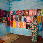 IOM Mauritania - Tate in her shop, Flowers and Victims of trafficking