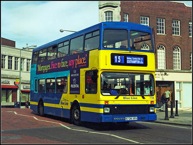 Solent Blue Line 738
