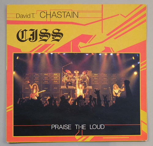 "CJSS ‎ PRAISE THE LOUD OIS 12"" LP ALBUM VINYL"