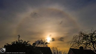 22 Degree Halo from Oxfordshire 11/01/19