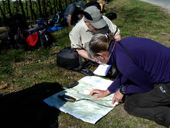 Kaart, kompas en GPS Ardennen, Workshop