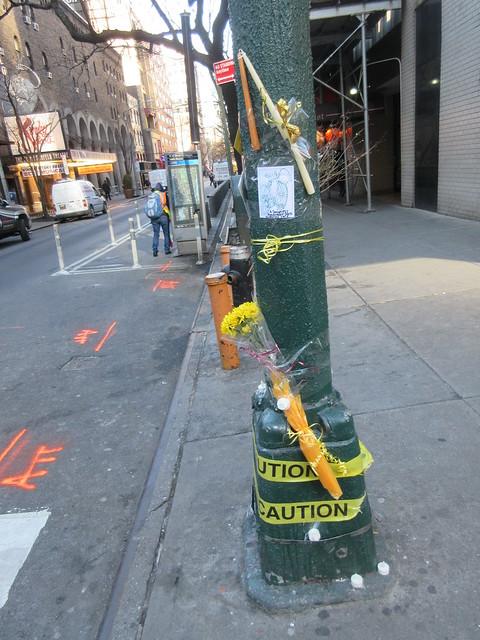 Bicyclist 72 killed in Manhattan hit-and-run Memorial 1045