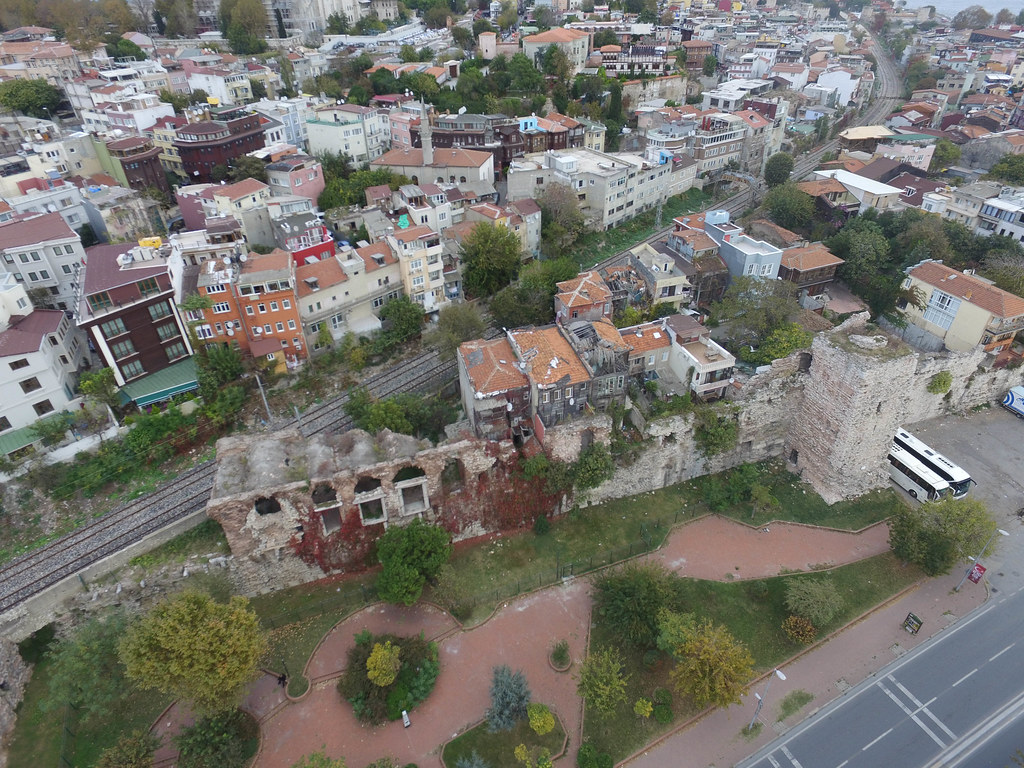 Boukoleon Palace - from the air