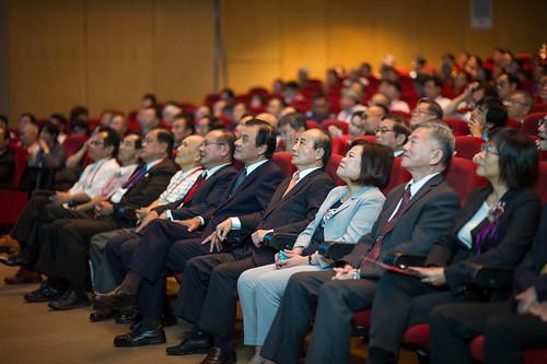 圖20. 眾多長官與貴賓們蒞臨60週年慶典禮會場