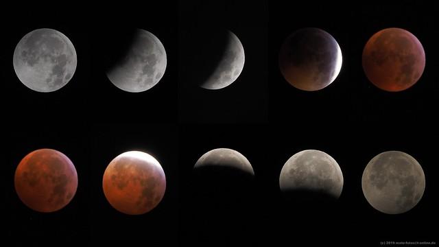 Mondfinsternis (Blutmond) / Total Lunar Eclipse (Blood Moon)