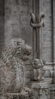 Trento - Il Duomo, dettagli