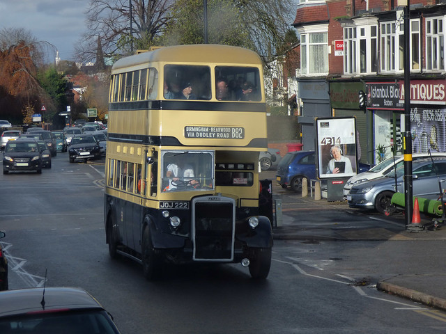 B82 - Heritage bus ride along the Alcester Road South, Kings Heath