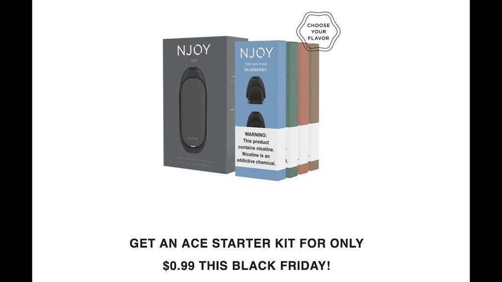Another Great Black Friday Deal: NJOY Ace Starter Kit for
