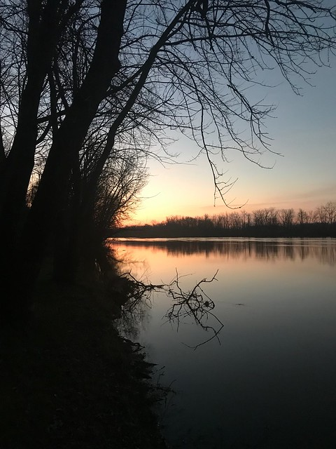 Dawn on the river