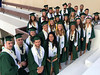 A total of 38 current and former University of Hawaii at Manoa student-athletes were honored among their peers at the 2018 Mid-Year Commencement on December 15, 2018.