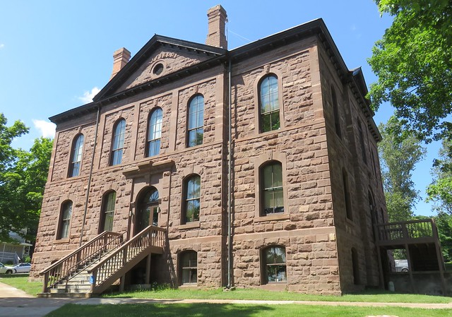 Old Bayfield County Courthouse (Bayfield, Wisconsin)
