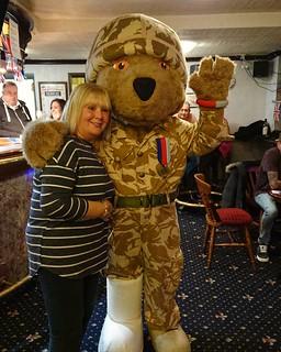 Help for hero's teddy The dog Inn chadderton