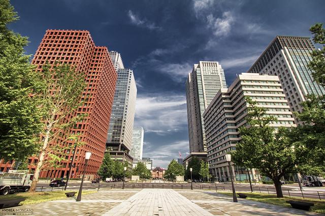 Marunouchi Gyoko-dori Avenue - Tokyo (Japan)