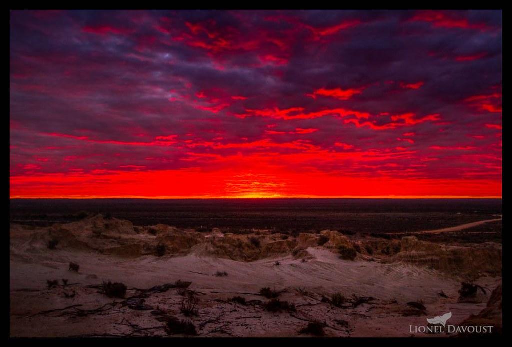 Lava sunset