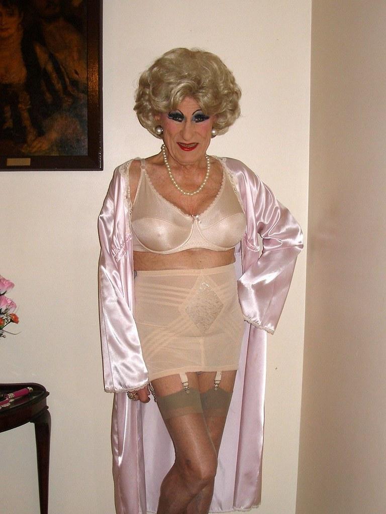 Fetish Transvestite In Corset