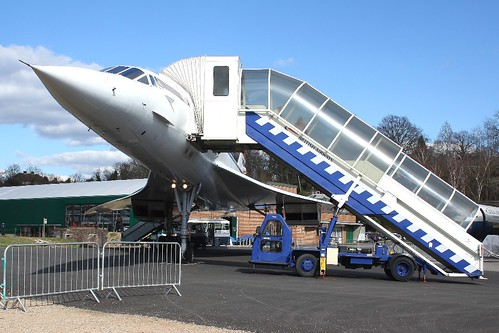 G-BBDG Concorde, Brooklands 19-03-2012 1826 | by sickbag_andy