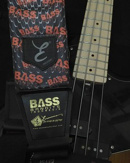Just got this super exclusive Bass Bandits strap by Enormous. I use Enormous strap since last year #Bass #Bassist #strap #bassguitar #bassstrap #enormousstrap #indobassgram #bassbandits #bassplayer | by Dede SP