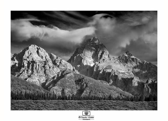 - Sunrise at the Grand Teton Mountains -