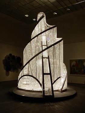 Louvre Abu Dhabi - Foubtain of Light - Ai Weiwei