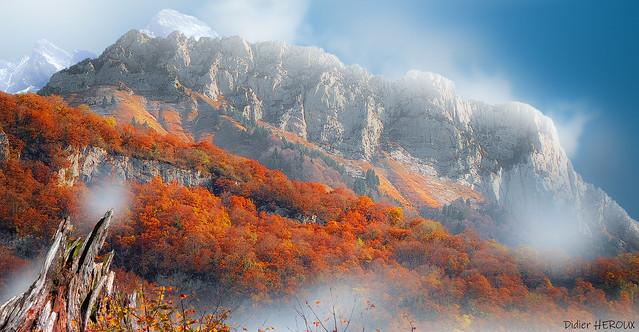 La montagne flamboyante