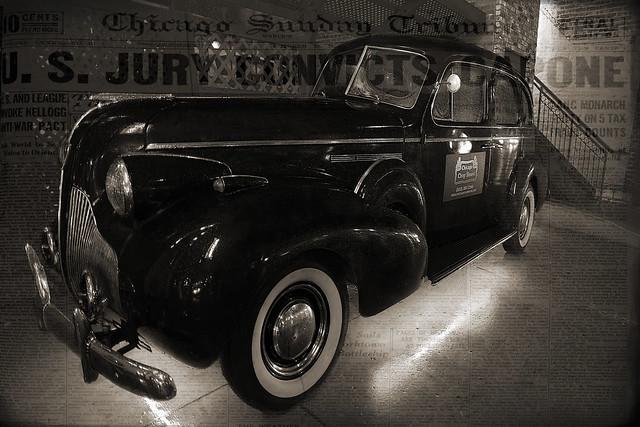 Mobster Car
