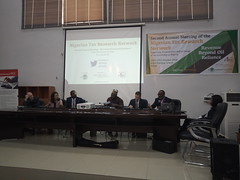 Rountable session_LR Neil, Yu, Nabena, chaired by Musty_Olly, & Prof Sanni