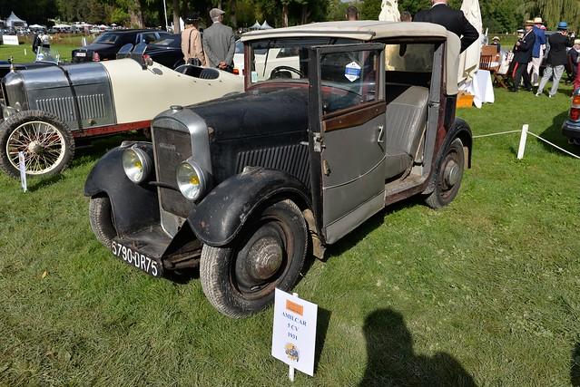 1931 Amilcar 5cv