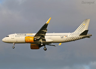 Airbus A320 Neo Vueling | by @Eurospot
