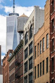 New York City / Freedom Tower   by Aviller71