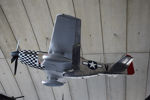 North American P-51D Mustang at the IWM, Duxford