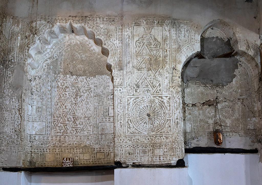 Beautiful decorative stucco plasterwork in Abdullah Matbou