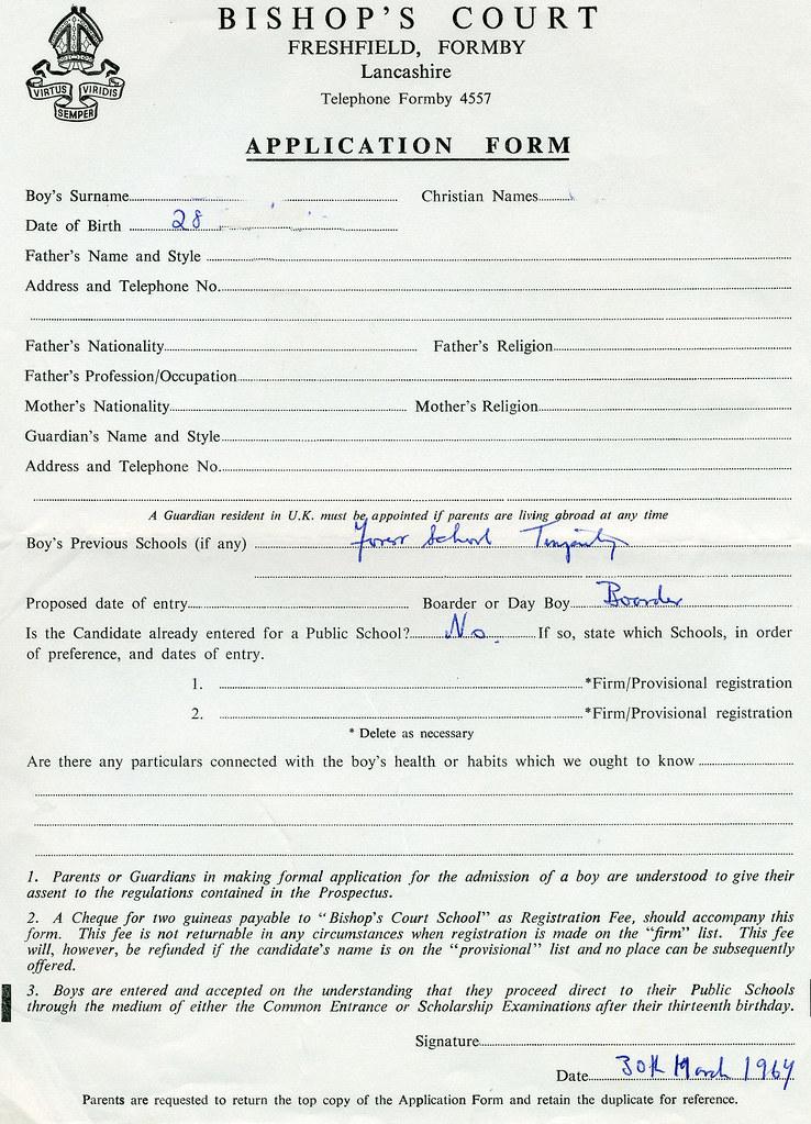 107+ Civic Application Form Terbaru