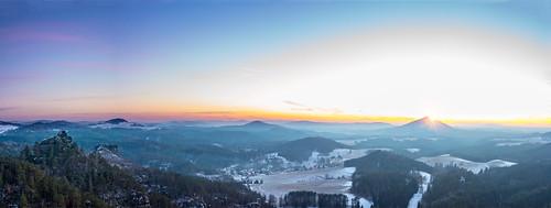 Sunset Panorama 4   by Bulda9